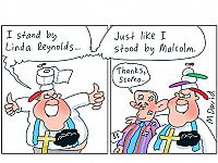 CARTOONS: Mark David is standing by