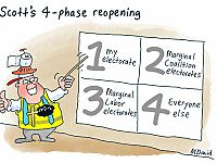 CARTOONS: The four phases of Mark David