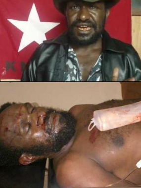 The assassination of a West Papuan leader