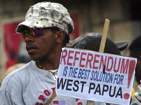 The 1969 Papuan plebiscite was an Act of Coercion