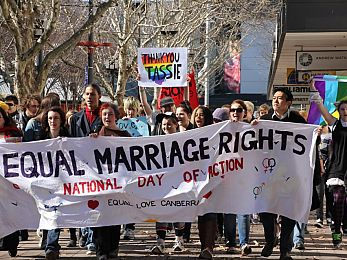 The world moves forward to support marriage equality