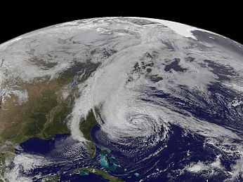 Superstorm Sandy washes away climate of doubt