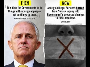 Amending the Racial Discrimination Act: Making bigotry great again!