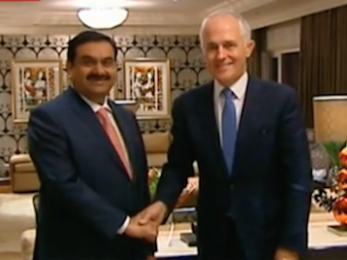 Australia is now paying for Adani's dirty coal to kill our Reef