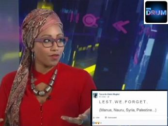 The vilification of Yassmin Abdel-Magied: Anzac as apologia and religion