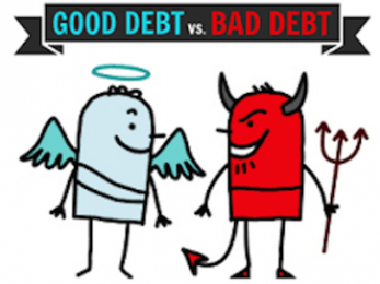 Government debt versus household debt: 'Good' and 'bad' debt explained