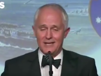 Turnbull's sycophancy towards Trump no 'Love Actually'