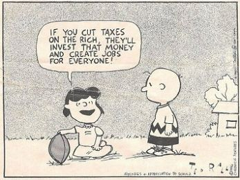 A lesson in trickledown economics