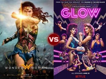Screen Themes: Wonder Woman vs GLOW