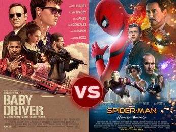 Screen Themes — Spider-Man: Homecoming vs Baby Driver