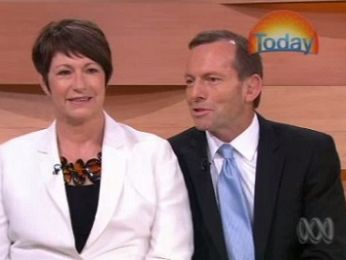 At home with the ever plebisciteful Tony Abbott