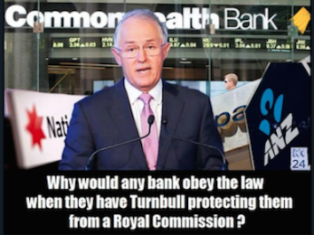 Terrorism, highway robbery and the Commonwealth Bank