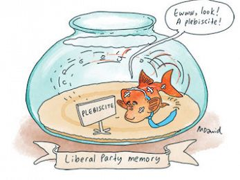 CARTOON: Liberal Party memory