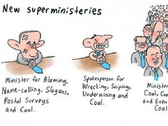 CARTOON: New superministries
