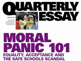 Moral Panic 101: Safe Schools and the new folk devils