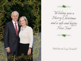 Malcolm and Lucy's Christmas mail