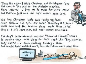 CARTOONS: Twas the night before Christmas...