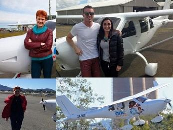 #5 TOP IA STORY OF 2017: Pauline Hanson lying high: The strange case of James Ashby's aeroplane