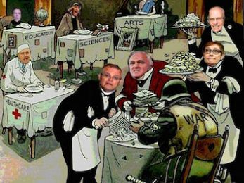 Mungo MacCallum: Turnbull Government merchants of death
