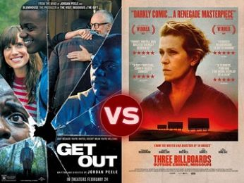 Screen Themes: Get Out vs Three Billboards Outside Epping, Missouri