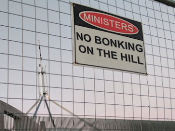 Barnaby, Turnbull and #BonkBan: Parliament is now officially a joke