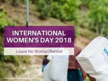 International Women's Day: How's that leaving no woman behind thing working out for you?