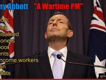Abbott's bogus war narrative and his problem with history