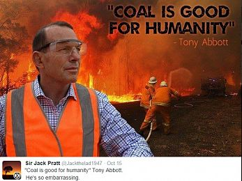 Coal is NOT good for humanity — or Australia