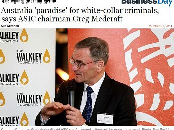 Control fraud: Australian banksters rort with impunity
