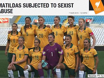 Matildas suffer British soldiers' sexist abuse in Cyprus