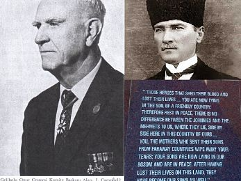 Atatürk's famous words of 1934 in doubt