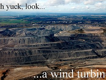 Abbott says RET policies designed to reduce 'visually awful' wind farms