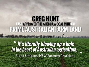 Coal vs Country: How Greg Hunt could have canned Shenhua to save the Plains