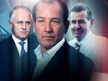 The coming dust-up between Malcolm Talcum and big tough Mal Brough