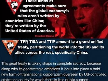 If the TPP was really about trade it would include China