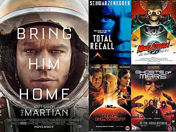 Screen Themes: The Martian and other movies about the Red Planet