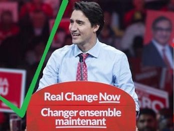 Canadians hammer Harper's hard right and hand power to reformist Trudeau