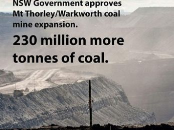 NSW approves Mt Thorley-Warkworth coal mine extension using flawed data