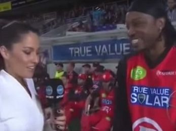 Clamp Chris Gayle's balls, Jamie Briggs hasn't got any — don't blush, baby