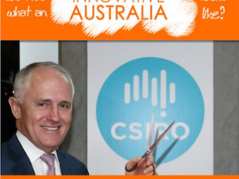 Earth is running a fever - not that the CSIRO will be reporting on it now