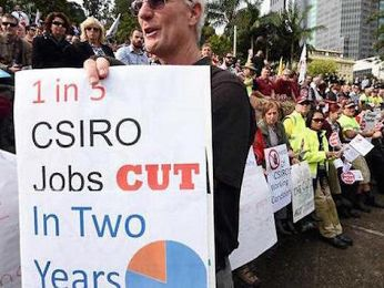 CSIRO cuts slammed around the world