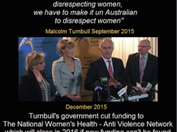 Misogyny: Alive and well under Turnbull (Part 2)