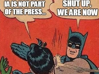 Independent Australia admitted to the Press Council ... but not the Press Gallery