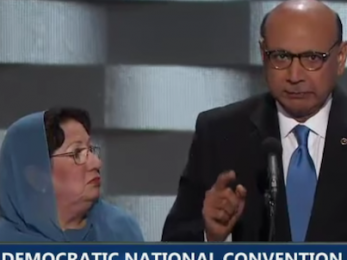 Trump: No, U.S. veteran hero's dad Khizr Kahn is not 'Muslim Brotherhood'
