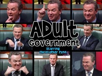 Christopher 'The Clown' Pyne's pair despair conceals the Coalition's lies