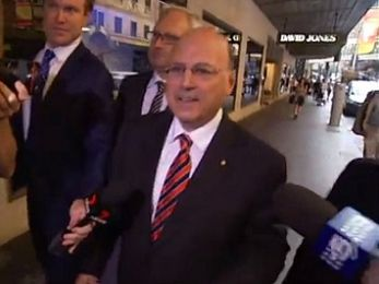 Arthur Sinodinos thinks he's in the clear — but clearly he's forgotten a few things