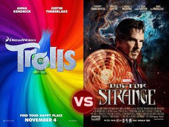 Screen Themes — Trolls vs Doctor Strange