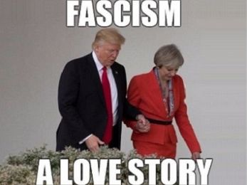 Trump and Theresa: A love story