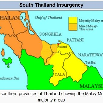 Southern Thailand's escalating insurgency