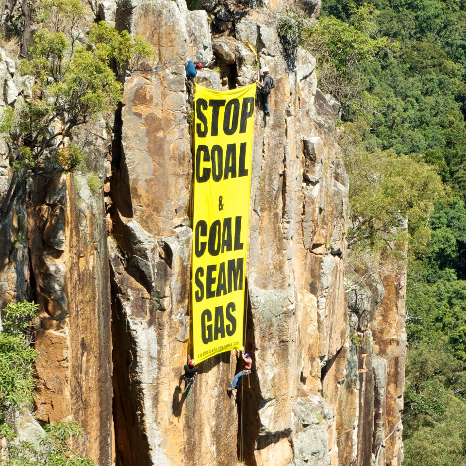 On sunday 16 october the hills of the scenic rim in southern